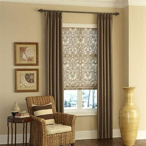 Window Blinds And Curtains by How To Mix And Match Window Treatments The Finishing Touch