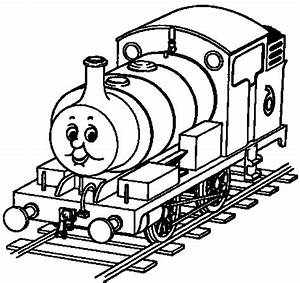 coloring page of a train - print download thomas the train theme coloring pages