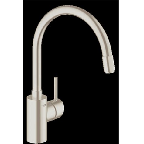 grohe concetto kitchen faucet stainless steel grohe concetto ohm sink extractable mousseur sink mixer