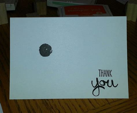 Tutorial For Quick And Easy Thank You Cards