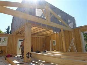 Maison En Bois Construction : plan autoconstruction maison ossature bois boismaison ~ Melissatoandfro.com Idées de Décoration
