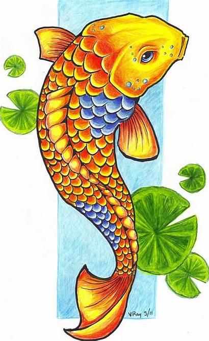 Koi Fish Clipart Carp Clip Drawings Deviantart