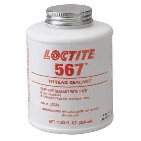 teflon kleben loctite loctite 33241 thread sealant with ptfe 350ml white walmart