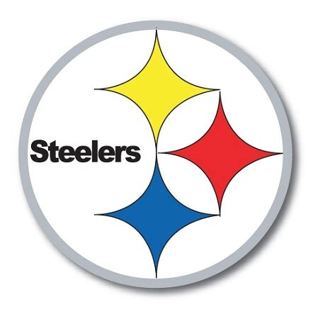 pittsburgh steelers vinyl die cut decal  sizes