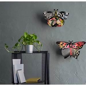 Decoration Murale Miroir : decoration murale papillon miroir miho unexpected things ~ Teatrodelosmanantiales.com Idées de Décoration