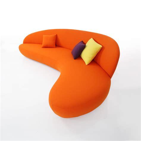 canape orange canapé orange newton meubles et atmosphère