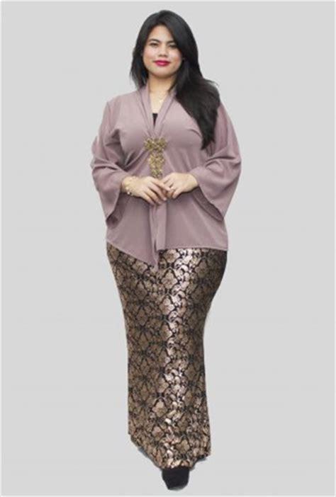 baju muslim wanita gemuk pendek 33 model baju kebaya modern yang elegan dikenakan info