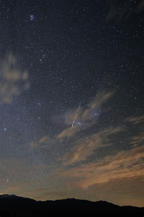 Meteor Fireball in the Sky