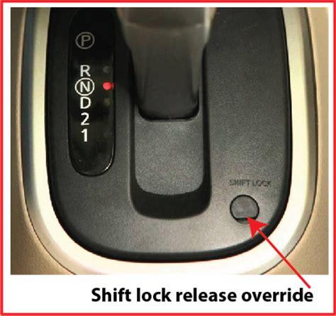 Shift Lock Release Stuck  Ricks Free Auto Repair Advice
