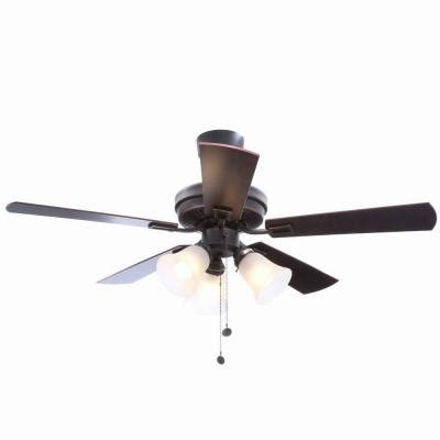 hton bay sinclair 44 in tarnish bronze ceiling fan