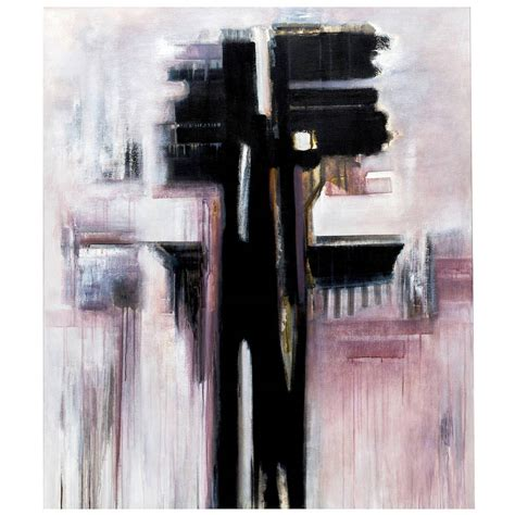 Abstract Black Painting by Modern Black And White Abstract Painting By