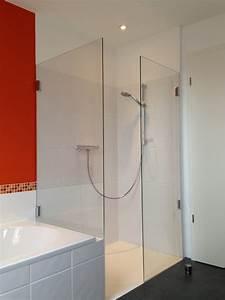 Duschtrennwand Badewanne Glas : duschabtrennung und duschtrennw nde glas die glaserei ~ Michelbontemps.com Haus und Dekorationen