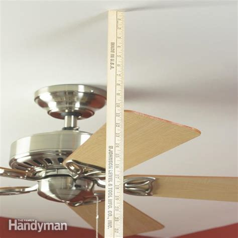 Balance Wobbling Ceiling Fan by How To Balance A Ceiling Fan The Family Handyman