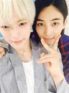 Minhyuk and Joo-Heon Monsta X