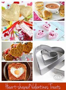 Heart-shaped Valentines Day Treats