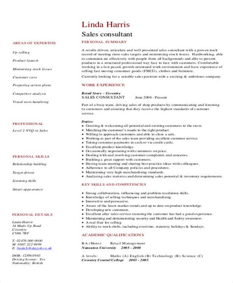It Consultant Resume Pdf by It Resume Sle 12 Exles In Word Pdf