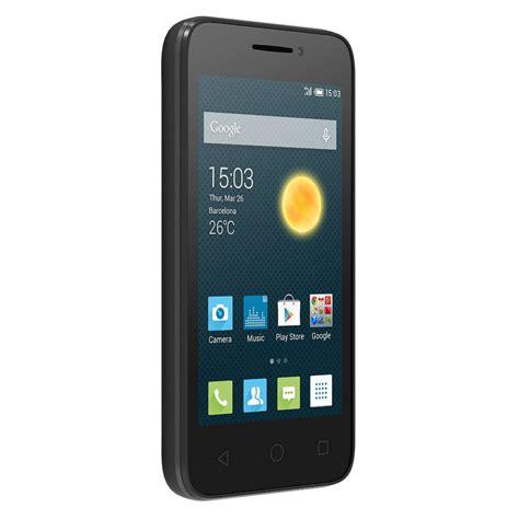 alcatel onetouch pixi 3 4 quot dual negro libre smartphone movil