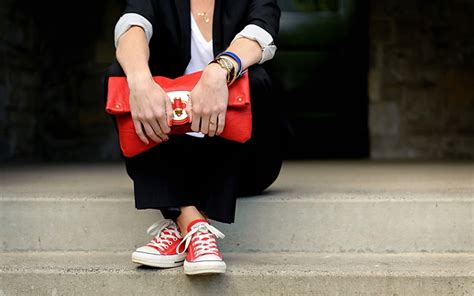 20 Ways to Wear Colored Converse | StyleCaster