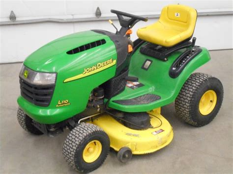 Deere L110 Mower Deck by Le Deere Lawn Tractors In Loretto Minnesota By