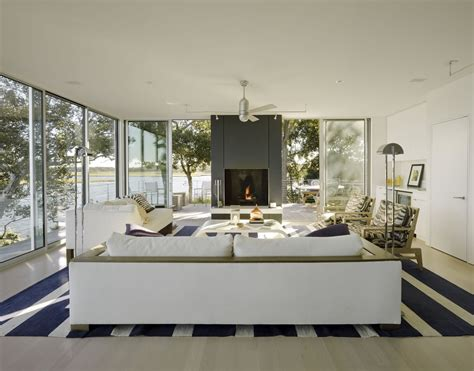 fireplace spaces stelle lomont rouhani architects