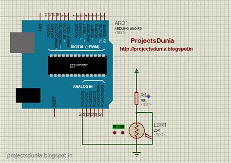 How Interface Ldr With Arduino Projectsdunia