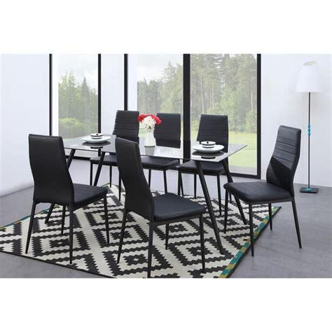lot 6 chaises noires lot 6 chaises salle manger trendy lot de chaise salle a