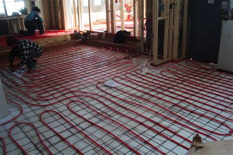 smal bathroom ideas electric radiant floor heating basics cost pros cons