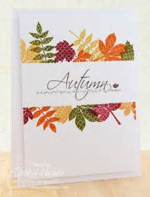 Autumn Leaves Card Ideas