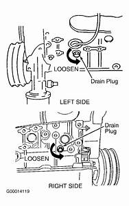 2002 Nissan Quest Serpentine Belt Routing And Timing Belt Diagrams