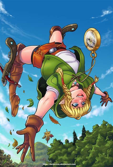 legend of zelda fan games linkle by darkereve on deviantart anime pinterest