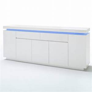 Sideboard Weiss Hochglanz Lack : sideboard ocean kommode anrichte wei hochglanz lack rgb beleuchtung ebay ~ Buech-reservation.com Haus und Dekorationen