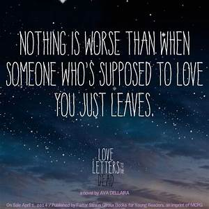 quote from love letters to the dead by ava dellaira book With love letters to the dead book