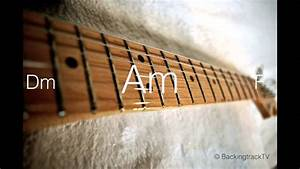 Blues Guitar Backing Track In Am Chords