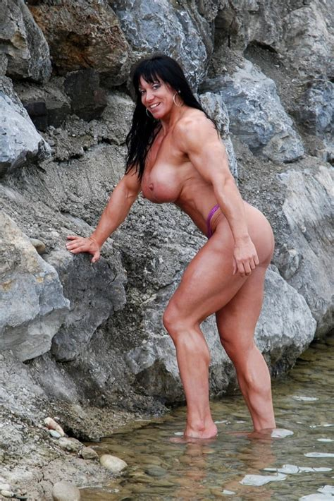 Female Body Builder Jana Linke Sippl 15 Bilder
