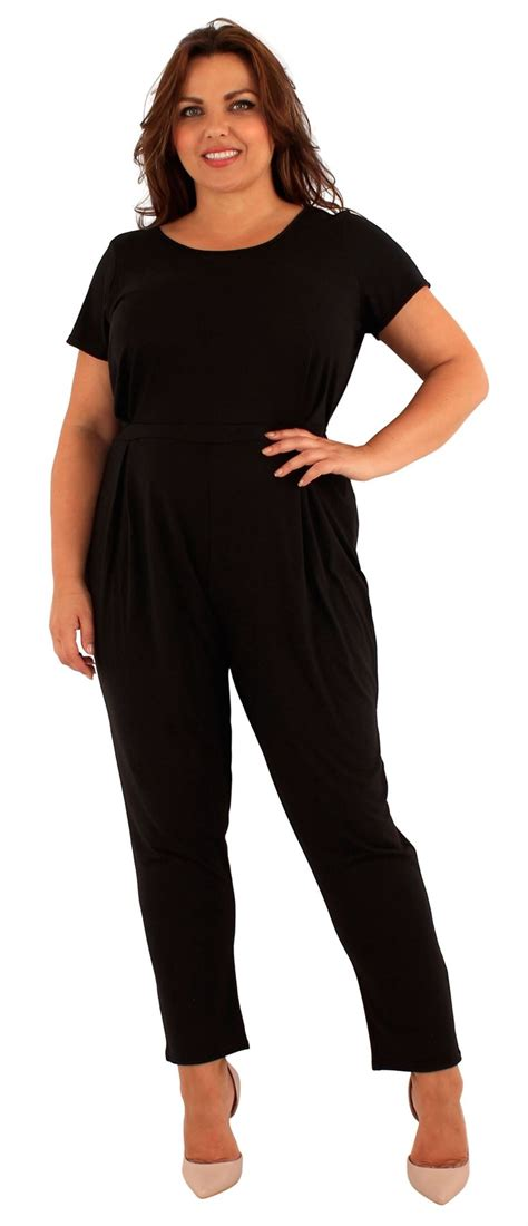 one jumpsuit womens womens plus size sleeve one jumpsuit dress