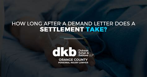 how long after a demand letter does settlement take how after a demand letter does a settlement take 22153   DKB How Long After a Demand Letter Does a Settlement Take