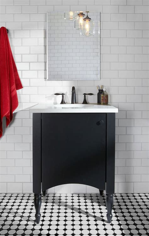 Small Bathroom Black And White by 30 Small Black And White Bathroom Tiles Ideas And Pictures
