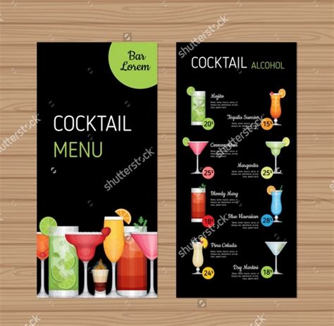 menu brochure designs psd vector eps jpg