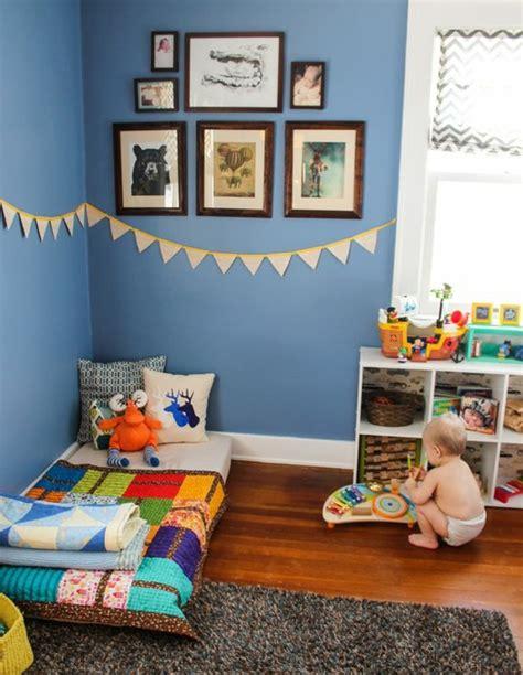 sol chambre bébé 1001 idées pour aménager une chambre montessori
