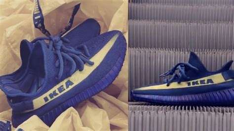ikea inspired yeezys   real      pair