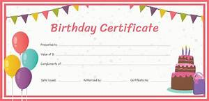 best gift certificate templates 38 free word pdf With birthday gift certificate template free download