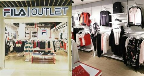 fila opens outlet store  imm   discount