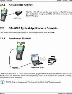 Atlas Copco Blm Sta6k Data Analyser User Manual