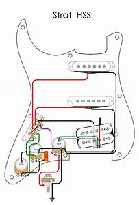 Fender Fat Strat 1 Volume 2 Tone Wiring Diagram