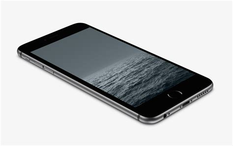 Grey Horizon Wallpaper For Iphone 6 And 6 Plus By