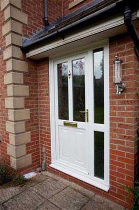 upvc front doors  side panels