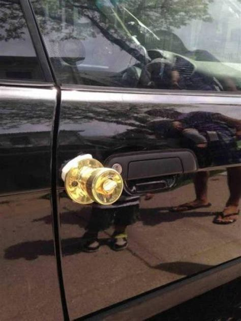 golden door knob  car justpost virtually entertaining