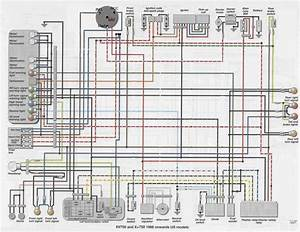 Yamaha Virago 535 Wiring Diagram  With Images
