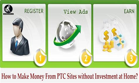 How To Make Money From Ptc Sites Without Investment At