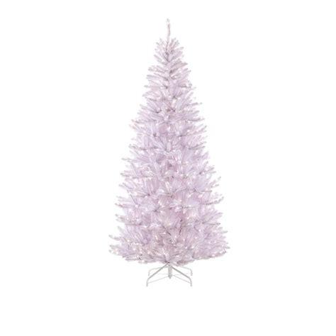 martha stewart living 7 5 ft pre lit white slim fir